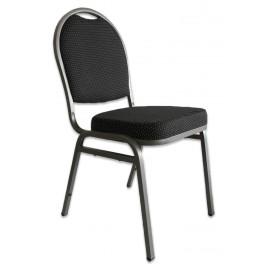 Konferensstolen Carl - Black Round