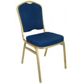 Konferensstolen Carl - Blue Classic